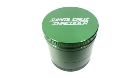 Santa Cruz Shredder 4-Piece Mini Green Grinder