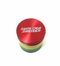 Santa Cruz Shredder 4-Piece Mini Rasta Grinder