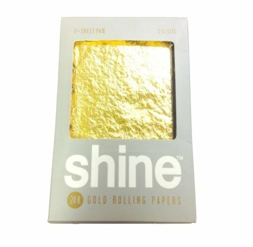 Shine 24k Gold Rolling Papers 2-Pack
