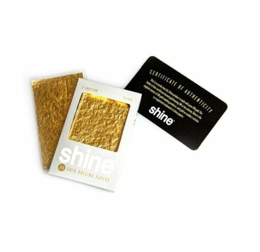 Shine 24k Gold Papers 2-Pack