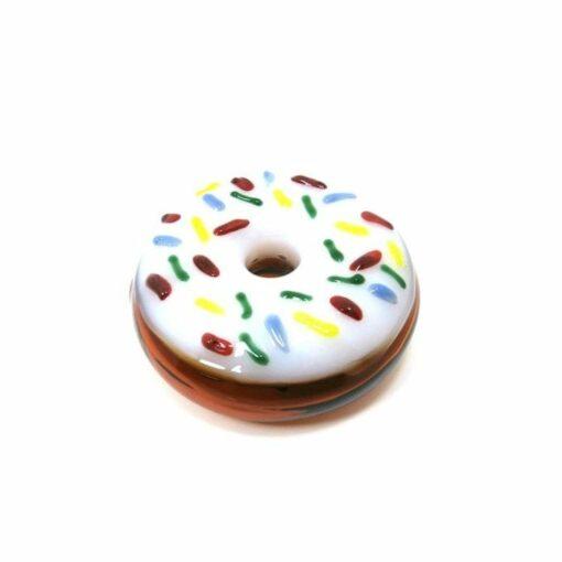 Crush Glass Donut Pipe