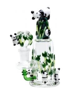 Empire Glassworks Panda Mini Water Pipe