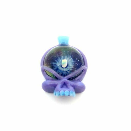 Matthew Neebs Opal Skull Pendant