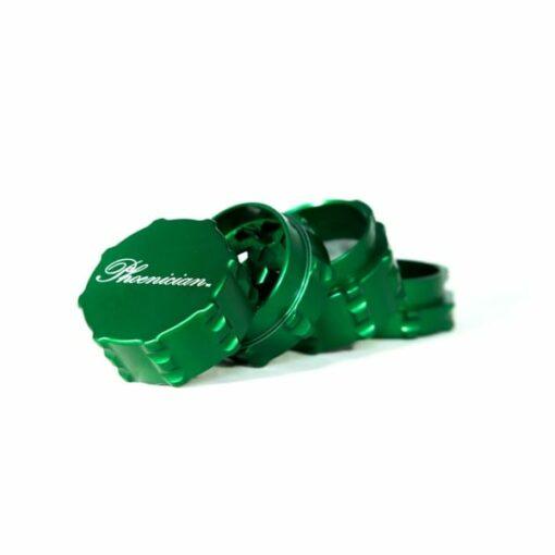 Phoenician Engineering 4-Piece Small Grinder Green