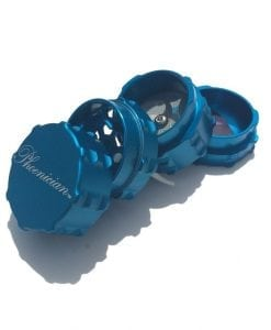 Phoenician Engineering 4-Piece Small Grinder Teal