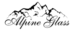 Alpine Glass Logo