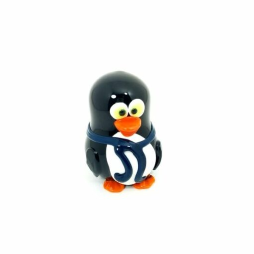 Crush Glass Penguin Pipe