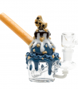 Empire Glassworks Cookie Monster Water Pipe
