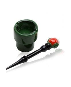 Empire Glassworks Piranha Plant Dish Dabber Set
