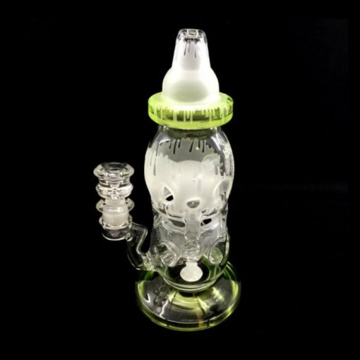 High Tech Glass Works Cheese Bottle Rig 3