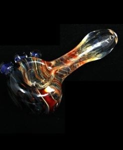 Thick Red Glass Pipe