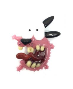 Courage the Cowardly Dog Pendant 2 Dematteo Art
