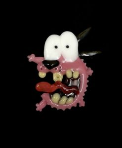 Courage the Cowardly Dog Pendant Dematteo Art