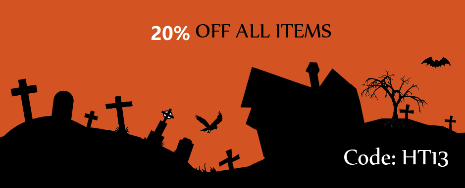 Heady Treasures Halloween Sale